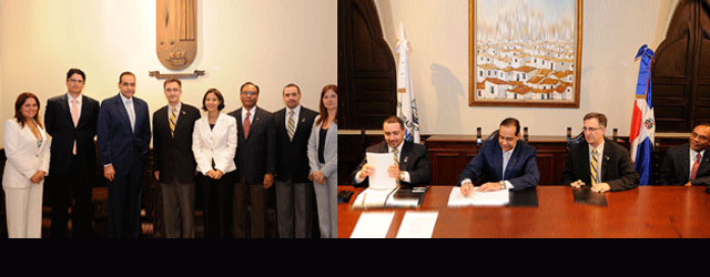 Universidad Iberoamericana, UNIBE, extended its agreement with Florida International University, to offer the Master of Construction Management to begin this year 2011.