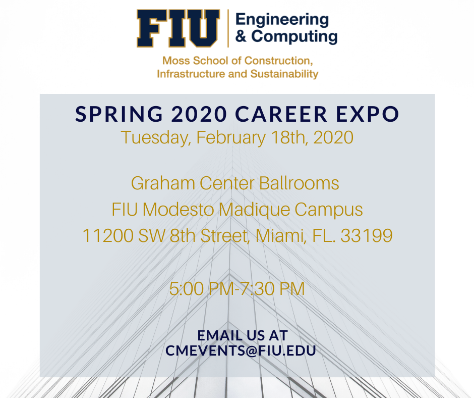 Announced: Spring 2020 Career Expo!
