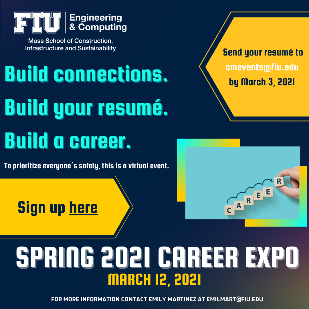 More than 15 companies participating in the virtual Spring Career Expo 2021