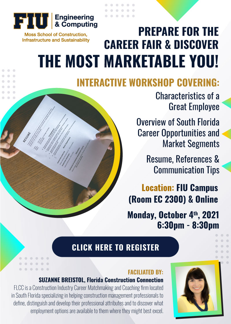 Prepare for the Career Expo and Discover the Most Marketable You with Florida Construction Connection