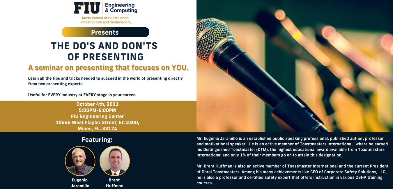 The Do's and Don'ts of Presenting Seminar
