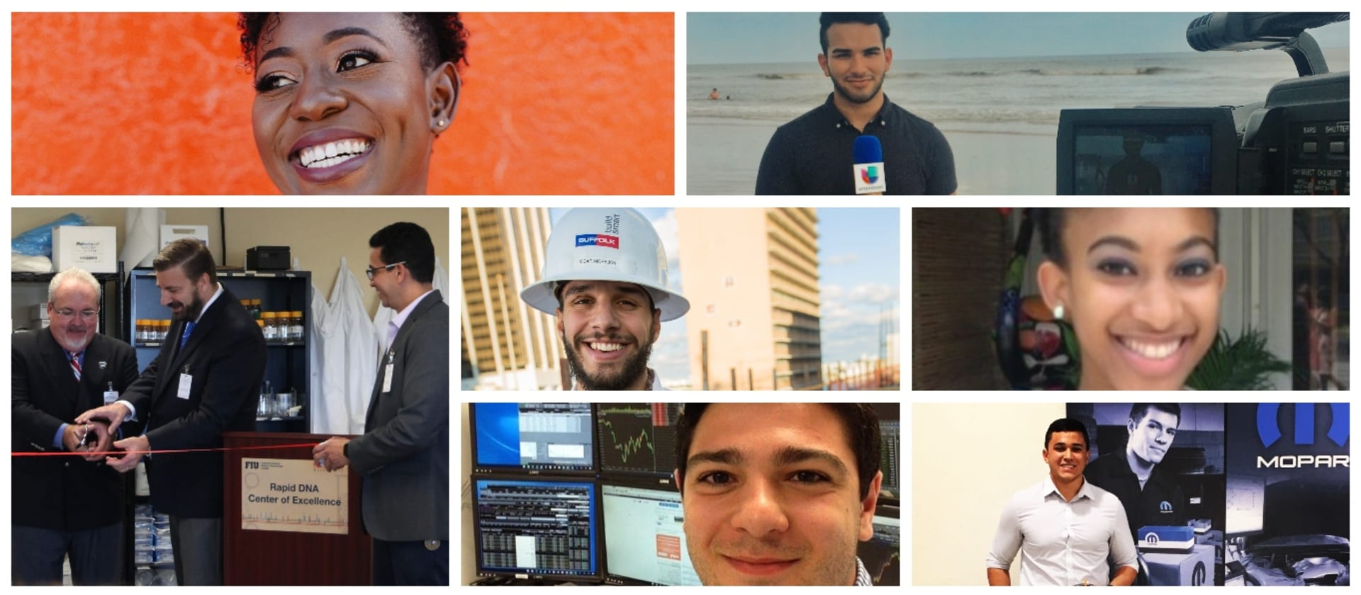 It all started with my internship FIU News article features FIU CM alum