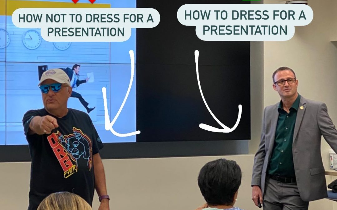 Do's & Don'ts of Presenting was held at FIU EC!